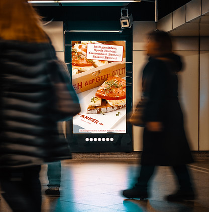 Ankerbrot CityLunch Kampagne