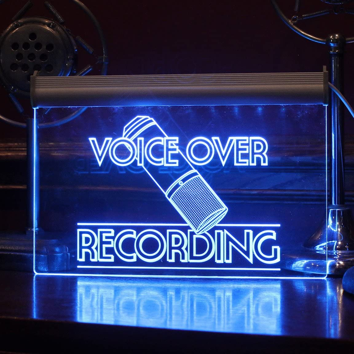 Multi Color LED, remote controlled VO Sign