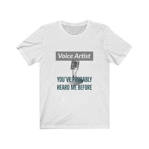 The Voice Artist's Tee