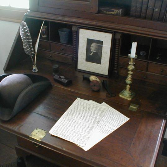 General William Lenoir's Secetary