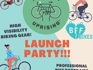 BFF Bikes Launch Party 🎉