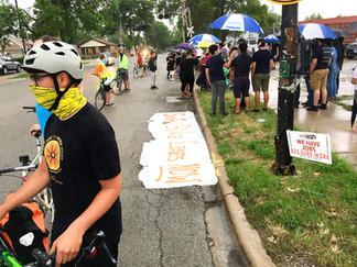 Human Protected Bike Lane Chicago - TONIGHT