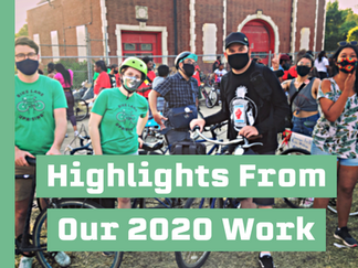 Highlights From Our 2020 Work