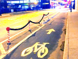 [ Updated ] Festive Bike Lane now with Map