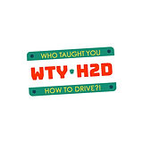 Who Taught You How to Drive Logo