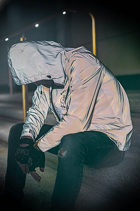 Reflective Windbreaker Raincoat