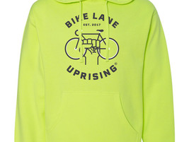 NEW: Hi-Viz Hooded Sweatshirt