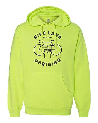 Unisex Hi-Viz Hooded Sweatshirt