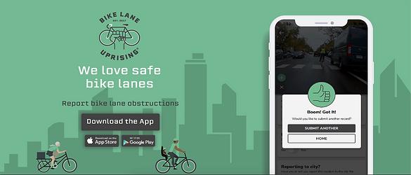 Report Bike Lane Obstructions Bike Lane