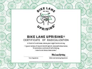 Certificate of Radicalization