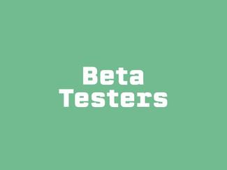 Mobile App - Beta Testers