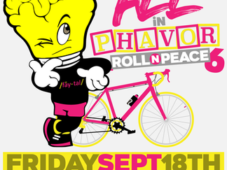 Bikepool to: Roll N Peace 6 ride