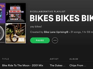 Spotify: BIKES BIKES BIKES