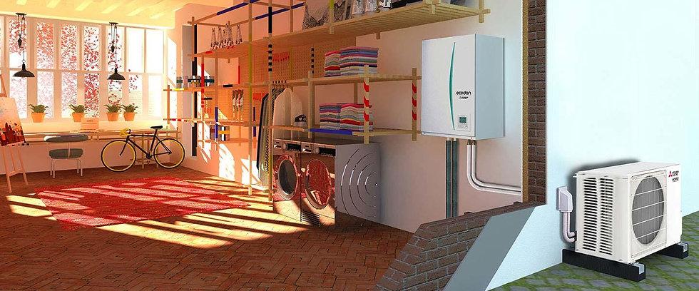 Pompe à chaleur Symbiose énergie