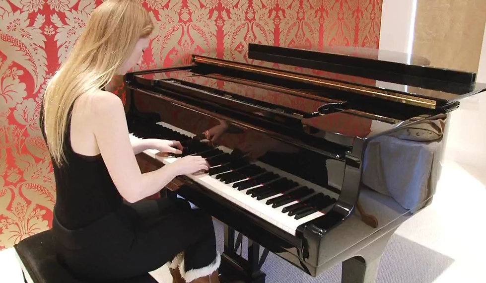 Silent Night, arranged for solo piano by Caroline Taylor