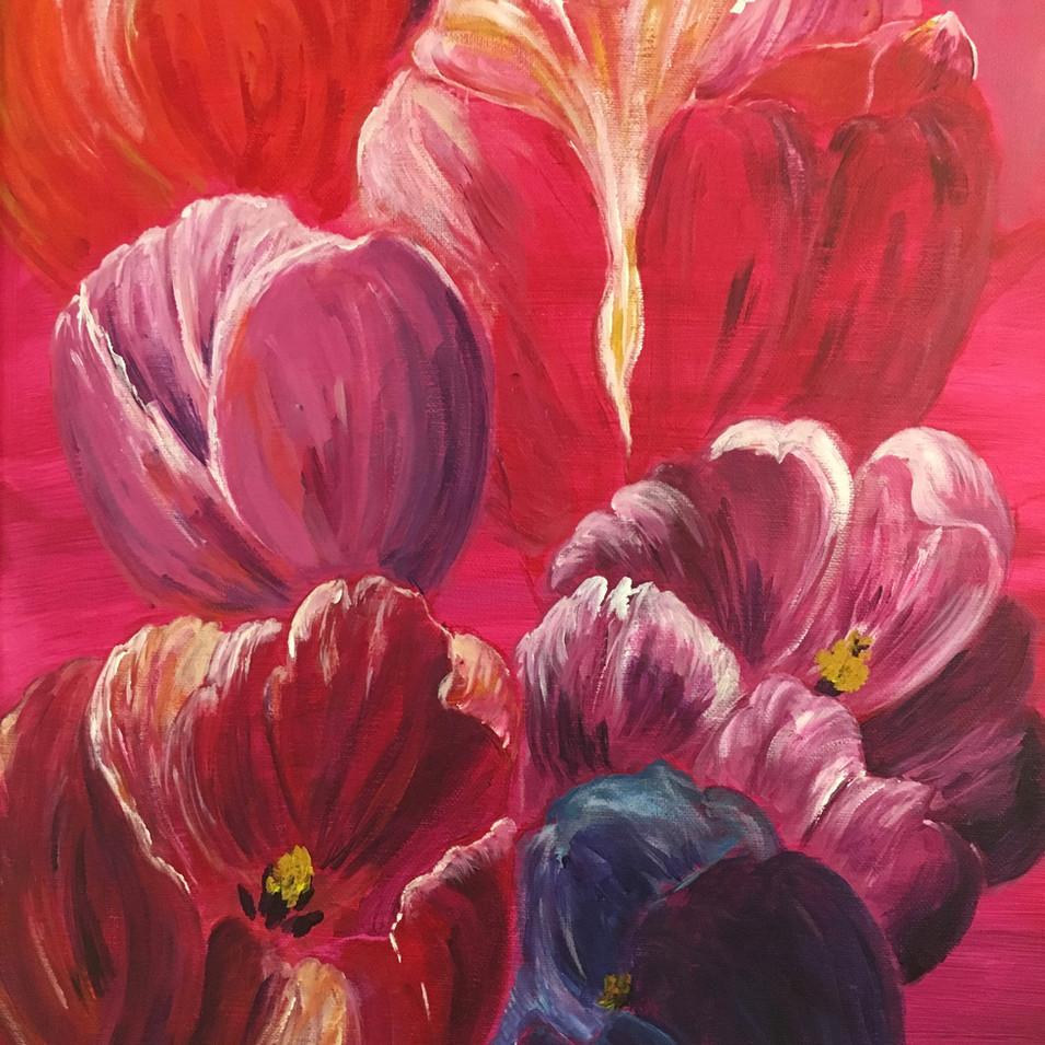 Blue tulip SOLD $390