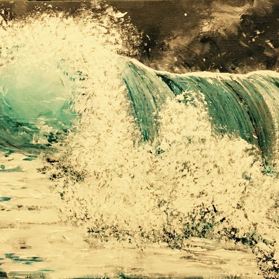 Crashing wave SOLD $350