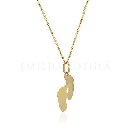 Colgante Oro pies oro amarillo 017-03374