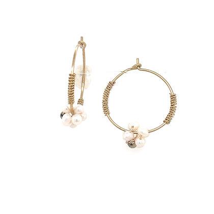 Pendiente Zag perla- Ref: SEC10515-1170