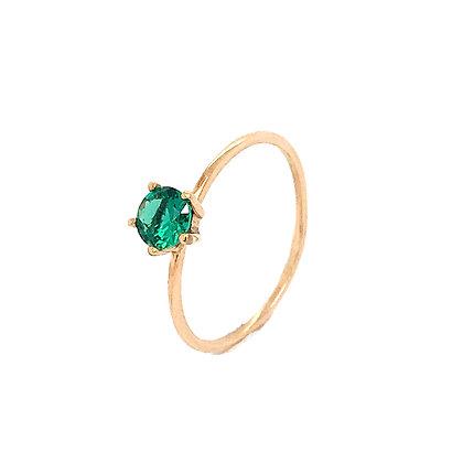 Sortija garras piedra verde 1P.00968