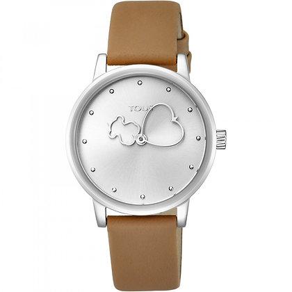 Reloj Bear Time con correa marrón - 800350930