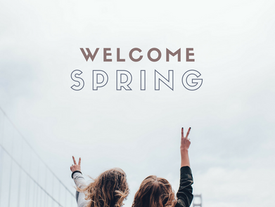 WELCOME SPRING 20% OFF