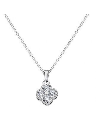 Collar Lotus Plata Sra. Ref: LP1612-1/1