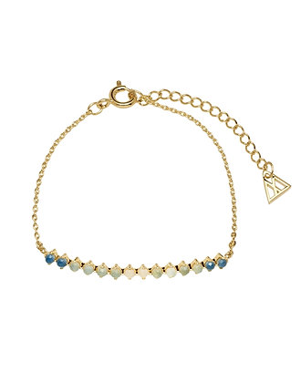 Pulsera Azure Gold Indigo Collection PU01-053-U