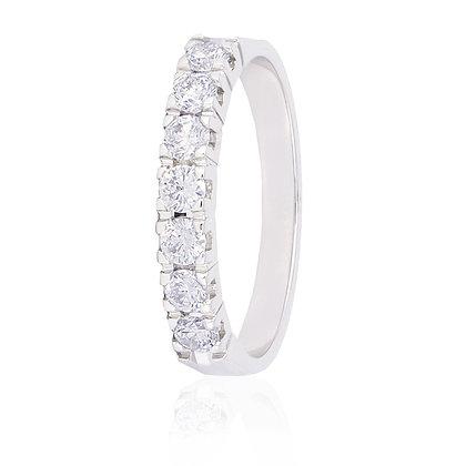 Sortija Oro Blanco y Diamantes 620-00012