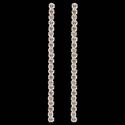 Pendientes Electra dorado AR01-169-U