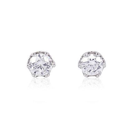 Pendientes diamantes oro blanco 219622h