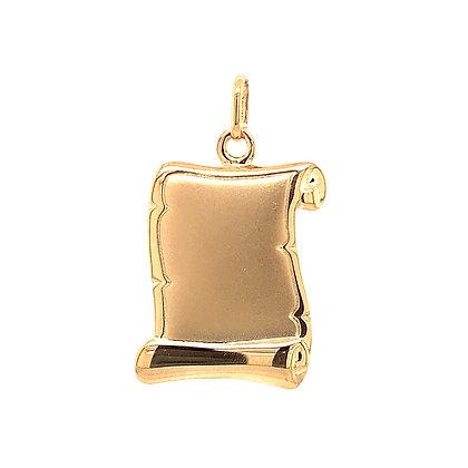 Placa oro personalizable 152-00281