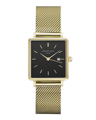 The Boxy Negro - Oro / 33mm - QBMG-Q06