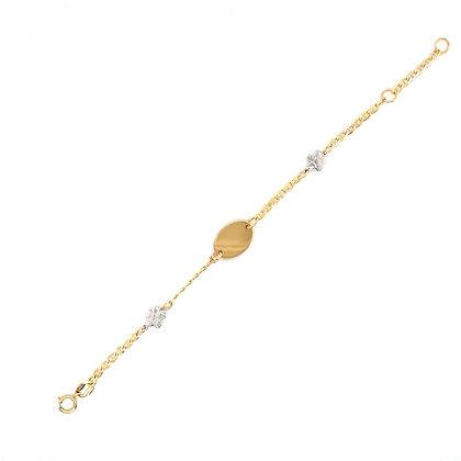Pulsera Bebé bicolor - Ref: 000-08647