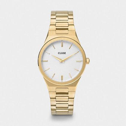 Reloj CluseVigoureux H-Link Gold Snow White/Gold CW0101210002