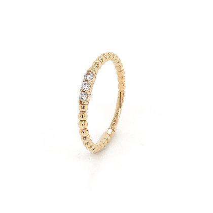 Sortija circonitas oro amarillo 139-02767A-52