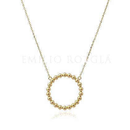 Colgante oro EMGA45746
