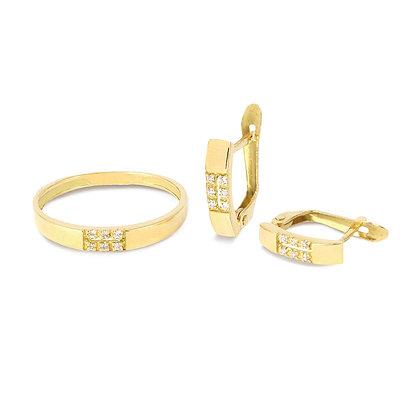 Aderezo oro comunión circonita r60a2580