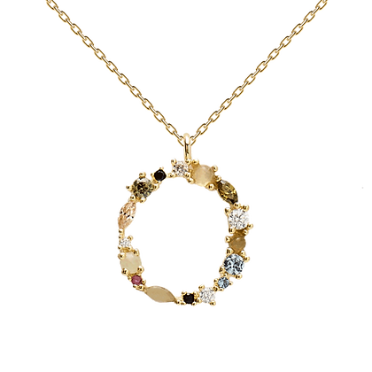 Collar Letra O Ref: CO01-110-U