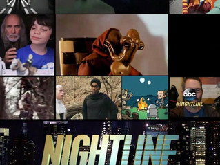 My film Star Wars: Behind the Saber featured on Nightline ABC!