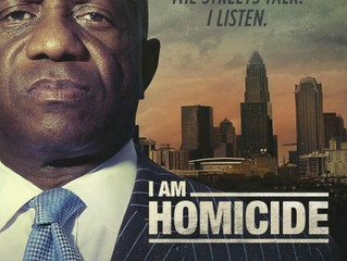"Watch me on TV tomorrow night on ""I Am Homicide""!"