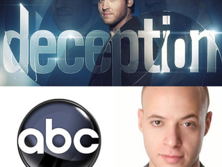Catch me on ABC's Deception tomorrow night!