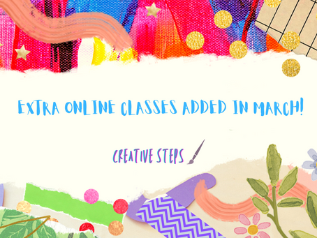 New March Classes!