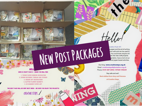 Spring and Paper: New Post Packages