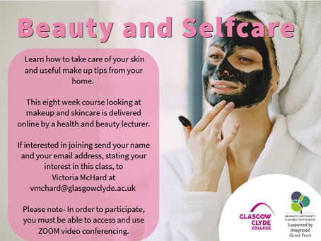 Relaxation and Selfcare: Online Classes from Glasgow Clyde College CLD