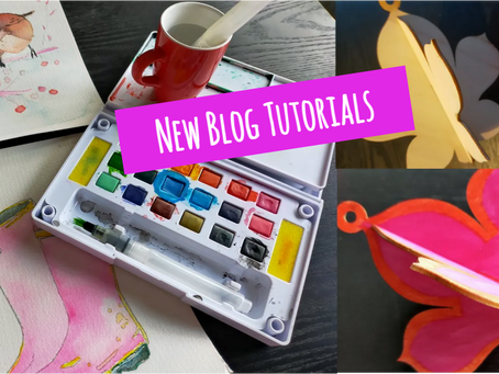 Colour Craft! Paint and Draw with our New Blog Tutorials