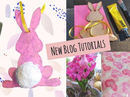 Decoupage and Photography: New Blog Tutorials