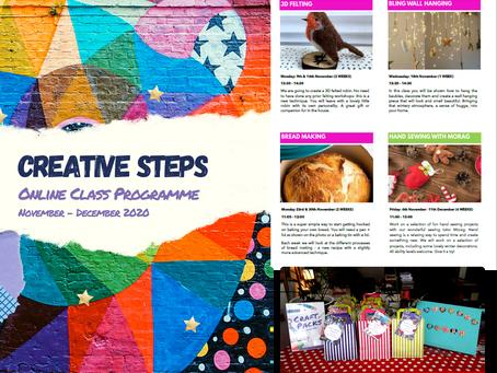 Take a Look: November - December Online Class Programme