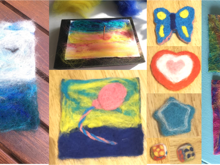 Get Inspired by Felting: Online Group