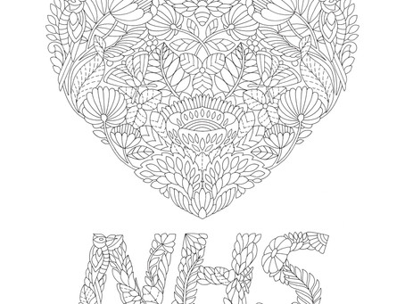 Love NHS: Support and Colour